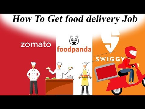 How To Get Delivery Job From Zomato Swiggy Foodpanda   Vs Professional Group  Tamil