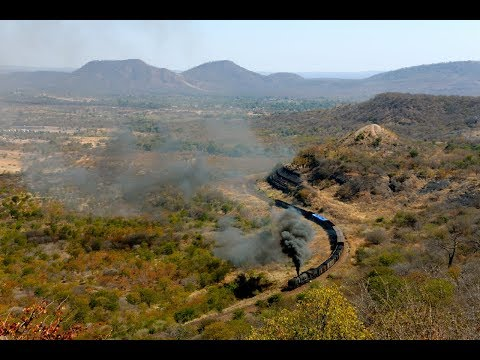 Steam Freight Into The Wilderness - Garratt 15A-414 - Zimbabwe 2017