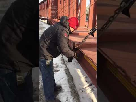 A better way to wind rail car cables