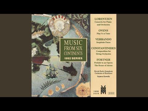 Piano Concerto: I. Tranquillo - Molto agitato