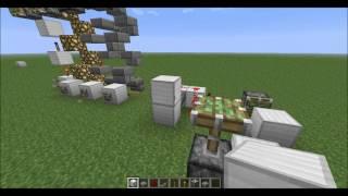 Instant Vertical Wire - Minecraft Tutorial