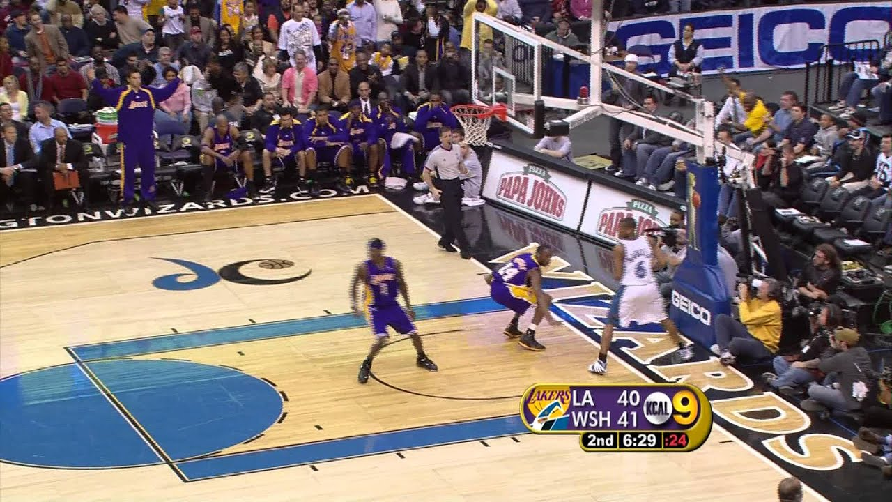 online store b4c50 4b447 Kobe Bryant 360 Dunk After Missed Dunk HD
