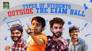 Types of Students Outside the Exam Hall | Random Video | Blacksheep