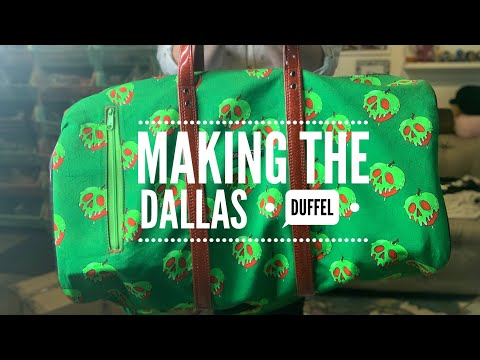 Making The Dallas Duffel Bag By Swoon Sewing Patterns