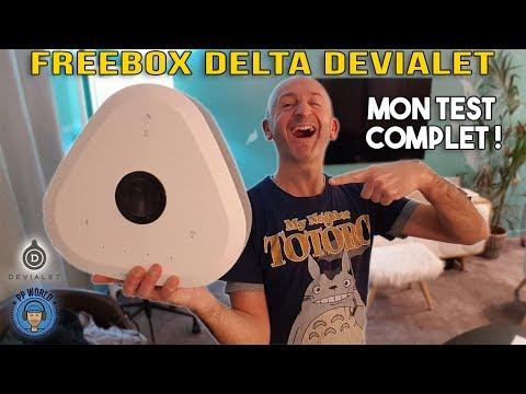 Freebox DELTA DEVIALET : mon TEST (+ interviews DEVIALET et Free !)