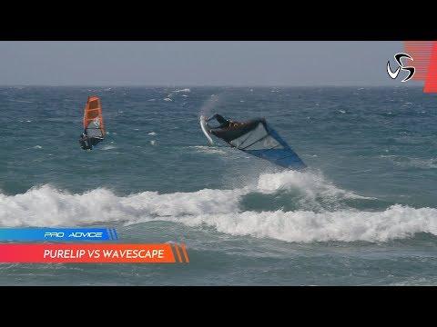 PRO ADVICE | Purelip vs Wavescape | Loftsails wave sails | Diony Guadagnino