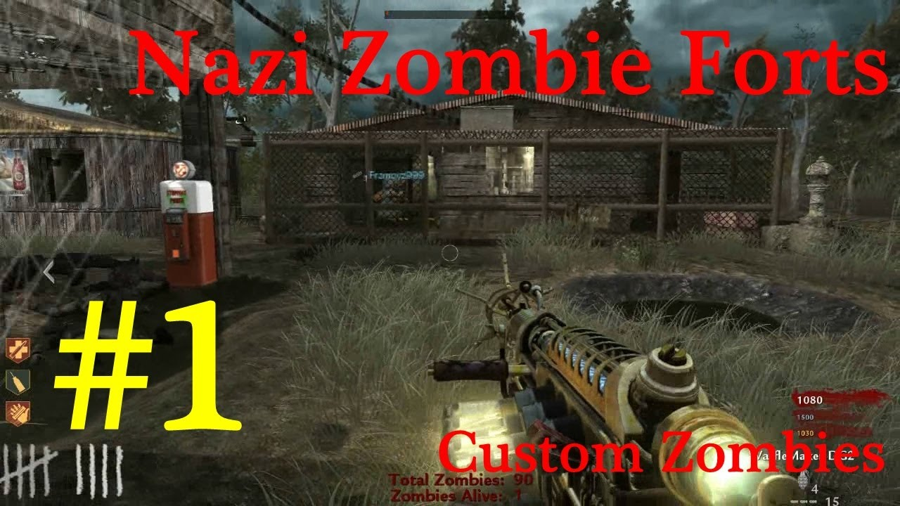 Parte 1] Nazi Zombie Forts - Custom Map #2 - Call of Duty World at ...