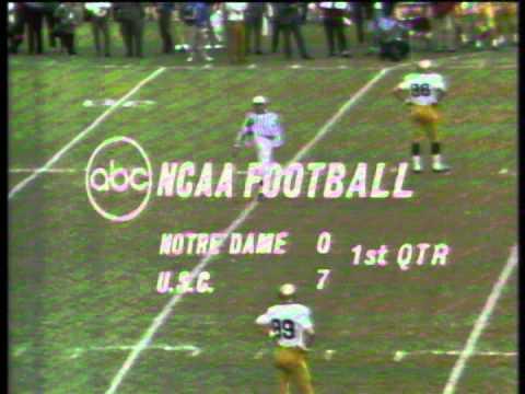 1968 Notre Dame at USC, Part 1