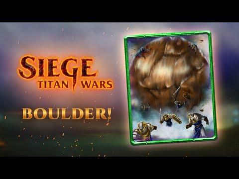 Rolling Boulder Spotlight - Strategy, Tips & Tricks - SIEGE: TITAN WARS®