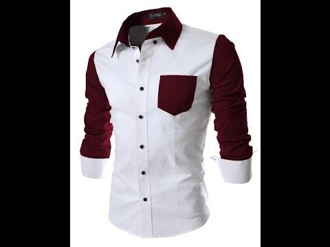 New Design For men Shirts -half half shirt design 2017 - YouTube 24e22b37674