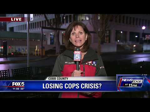 Cobb County losing police and firefighters due to pay