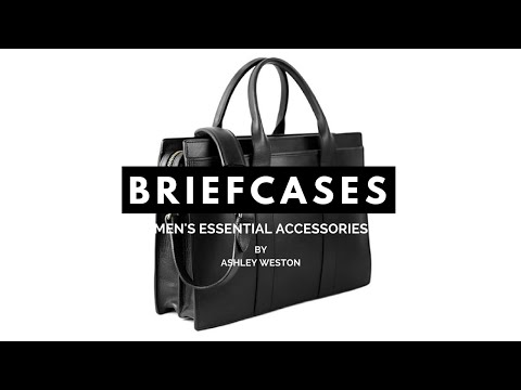 The Best Briefcases & Messenger Bags - Men's Essential Accessories - Leather, Canvas, Shoulder