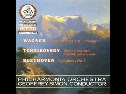 """Violin Concerto in D, Op.35, Finale (Allegro vivacissimo)""--Tchaikovsky"