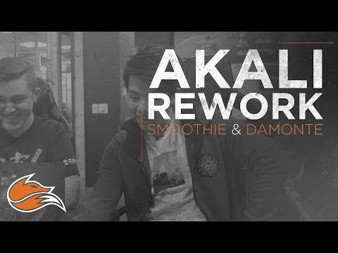 Echo Fox Reacts -  Akali Rework ft. Smoothie & Damonte