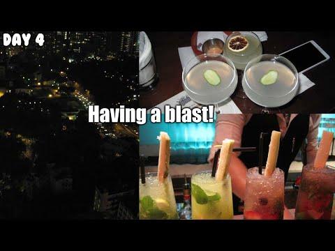 Travel Vlog #10   Party at Lan Kwai Fong!! WHOA! w/Rena 2016   Day 4