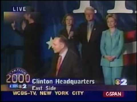 Hillary, NY Senator Elect, 2000 - Part 1