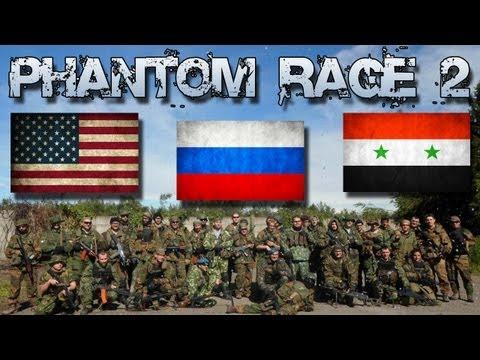 "PHANTOM RAGE 2 | Giorno 1 Pt. 1/3 | Federazione Russa, SQ. ""Oca Blu"" PKM cam"
