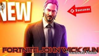 Fortnite NEW John Wick Gun Is EPIC !