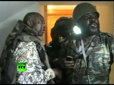 Dramatic video of Gbagbo arrest as troops storm Ivory Coast residence