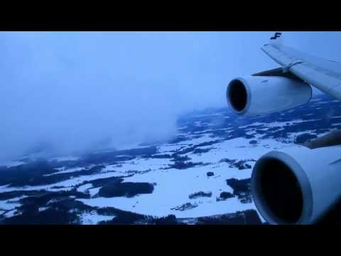 Descent into Helsinki Vantaa Airport - AY82 from Singapore