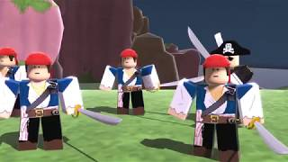 ROBLOX Dungeon Quest The Pirate Island Dungeon Animation Ep 5