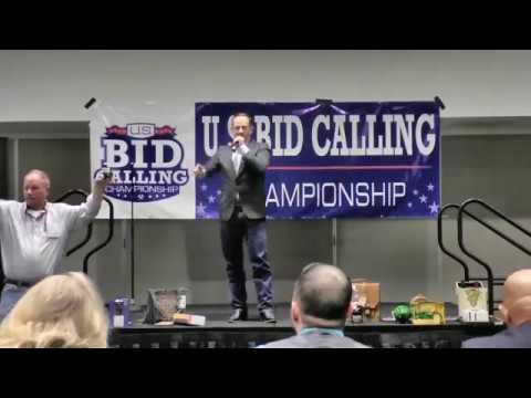 Linford Berry @ 2016 US Bid Calling Championship