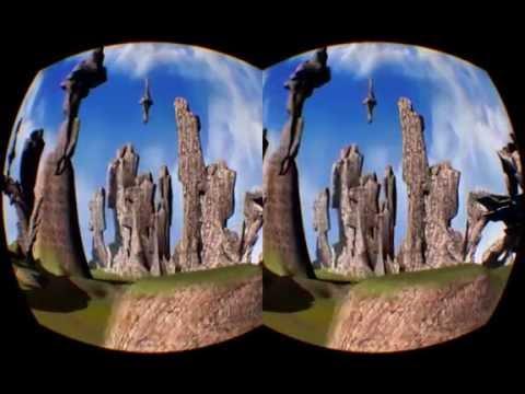 3D Stereoscopy Video VR convertion TEST
