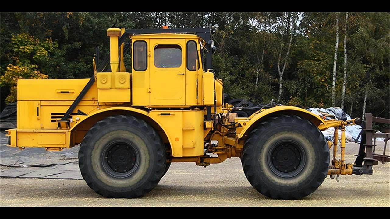 russische traktor kirovets k700 youtube. Black Bedroom Furniture Sets. Home Design Ideas