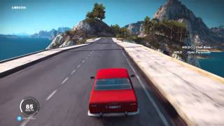 Just Cause 3 Bridge Destruction! (Sort of) -PS4 Gameplay