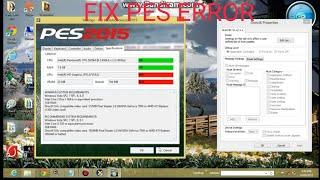 PES2015-16-17 VRAM 512-GPU error fix by a app very simple (PC)