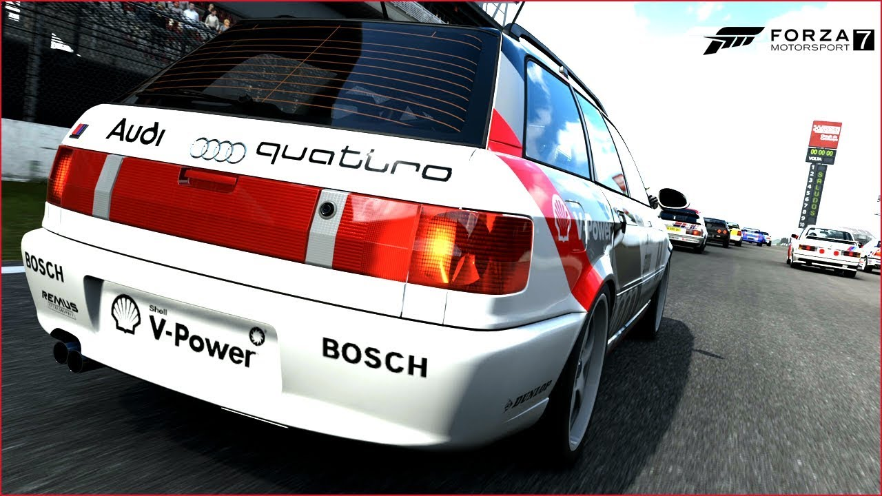 Forza Career Mode AUDI RS VERY STRONG TURBINED GoPRO - Audi career