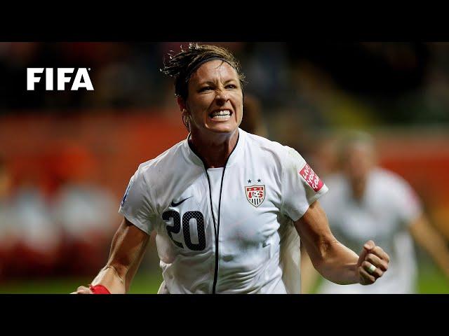 🇺🇸 Abby Wambach | FIFA Women's World Cup Goals