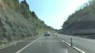 東九州自動車道開通記念 大分〜宮崎ノンストップ 4倍速の旅