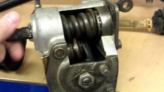 видео Особенности рулевого управления ВАЗ-2107