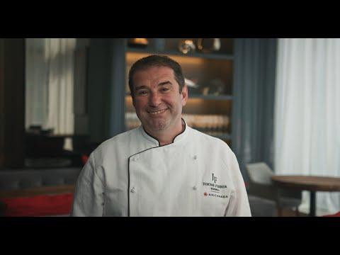 Air Canada: chef Jérôme Ferrer
