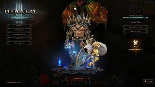 Diablo 3 2.6.8 PTR 11 min GR 120 Freeze Frenzy Barb!!!