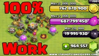 How to hack Clash of clans without root by gamer boy