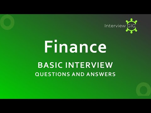 Finance Interview Questions and Answers |Financial Analyst |Accounting|Basic FAQ|
