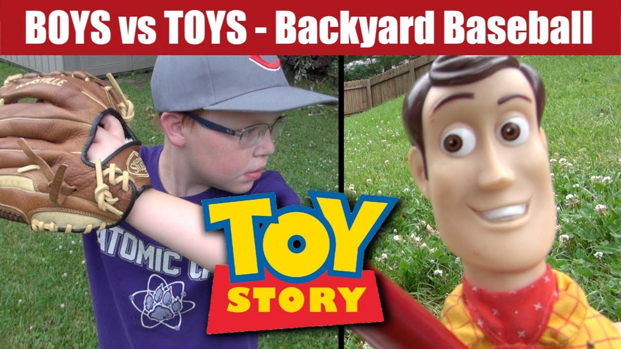 toys vs boys field of dreams baseball toy story 4 woody buzz