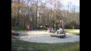 Фитнес на природе . Германия.