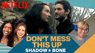 Booktubers React to Shadow and Bone | Don't Mess This Up | Netflix