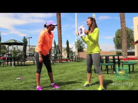 Martina Hingis & Sania Mirza Try Hand at Guessing Game