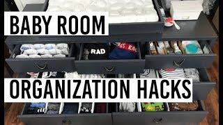 Baby Room Organization HACKS | HOME STYLE