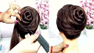 new latest juda hairstyle with trick   easy hairstyles   hairstyles for girls   hairstyles