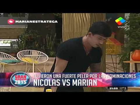 Nicolás, un volcán de furia contra Marian