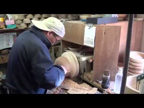 Woodturning ► How to make a wooden bowl