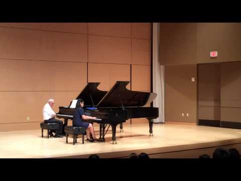 Master class with John Owings (Mozart Sonata)