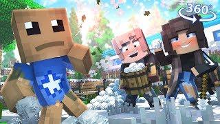 Vr Kick The Buddy - Buddyand39s Antagonist - Minecraft 360° Vr Video