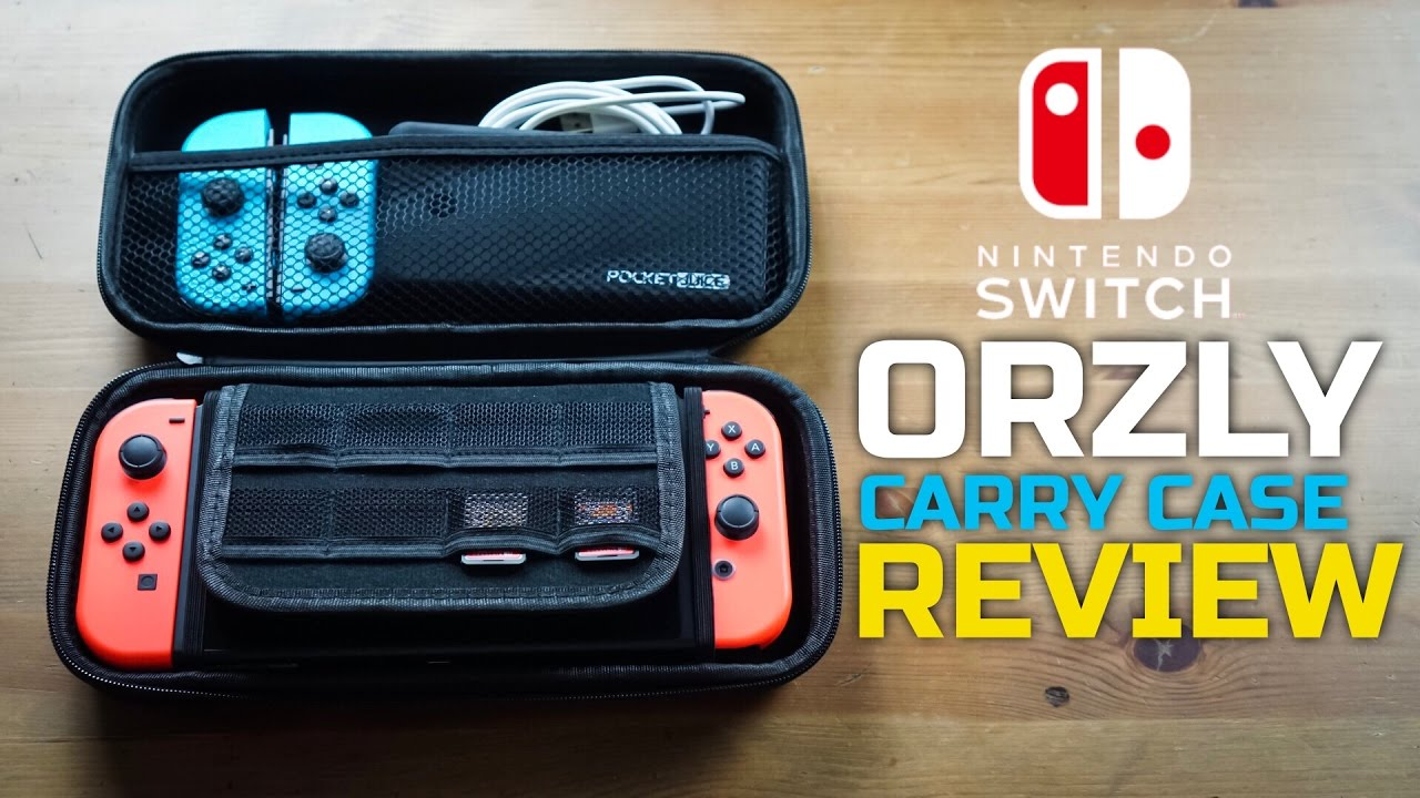 nintendo switch free giveaway the ultimate switch case for under 10 orzly carry case 7165