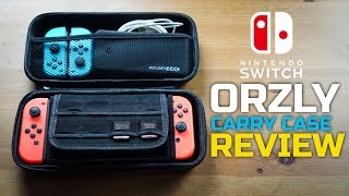 The Ultimate Switch Case For Under $10 - Orzly Carry Case Review + Nintendo Switch Giveaway
